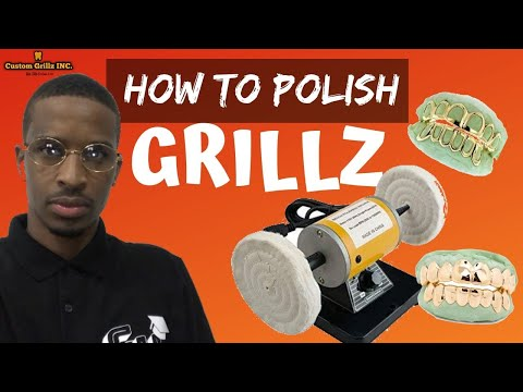 HOW TO MAKE GOLD TEETH GRILLZ: How To Clean & Polish Gold Grillz From Home (Fix Your Grillz)