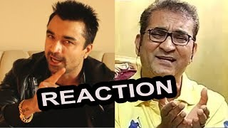 Ajaz Khan Reacted On Abhijeet Bhattacharya Twitter Account Suspention