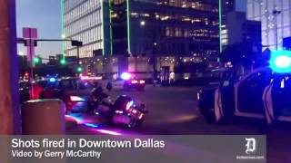 Shots fired in downtown Dallas