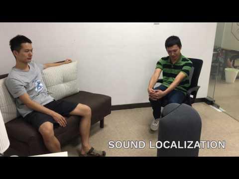 NXROBO BIG-i Test: Sound Source Localization