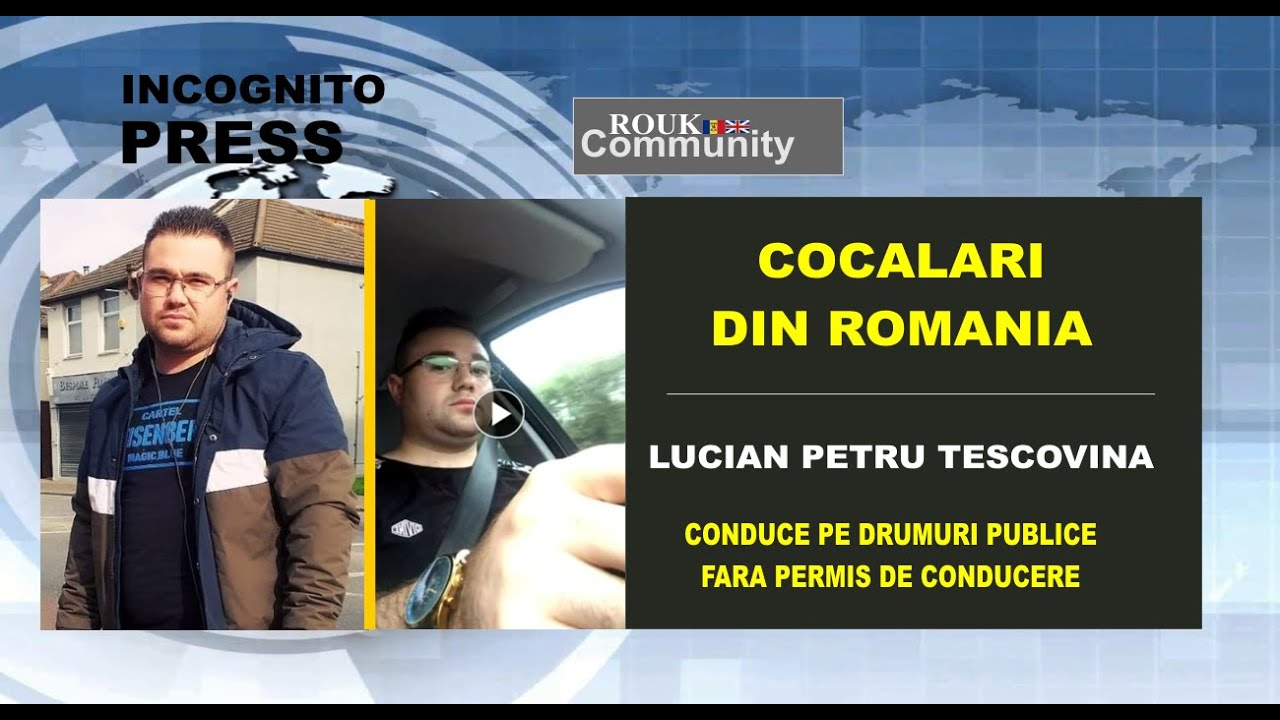 Lucian Petru Tescovina - Conduce fara Detinerea Permisului de Conducere