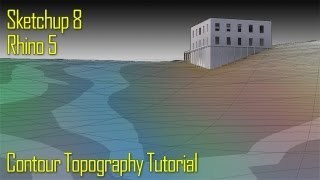 [TUTORIAL] Topography Model with Sketchup 8 and Rhino 5