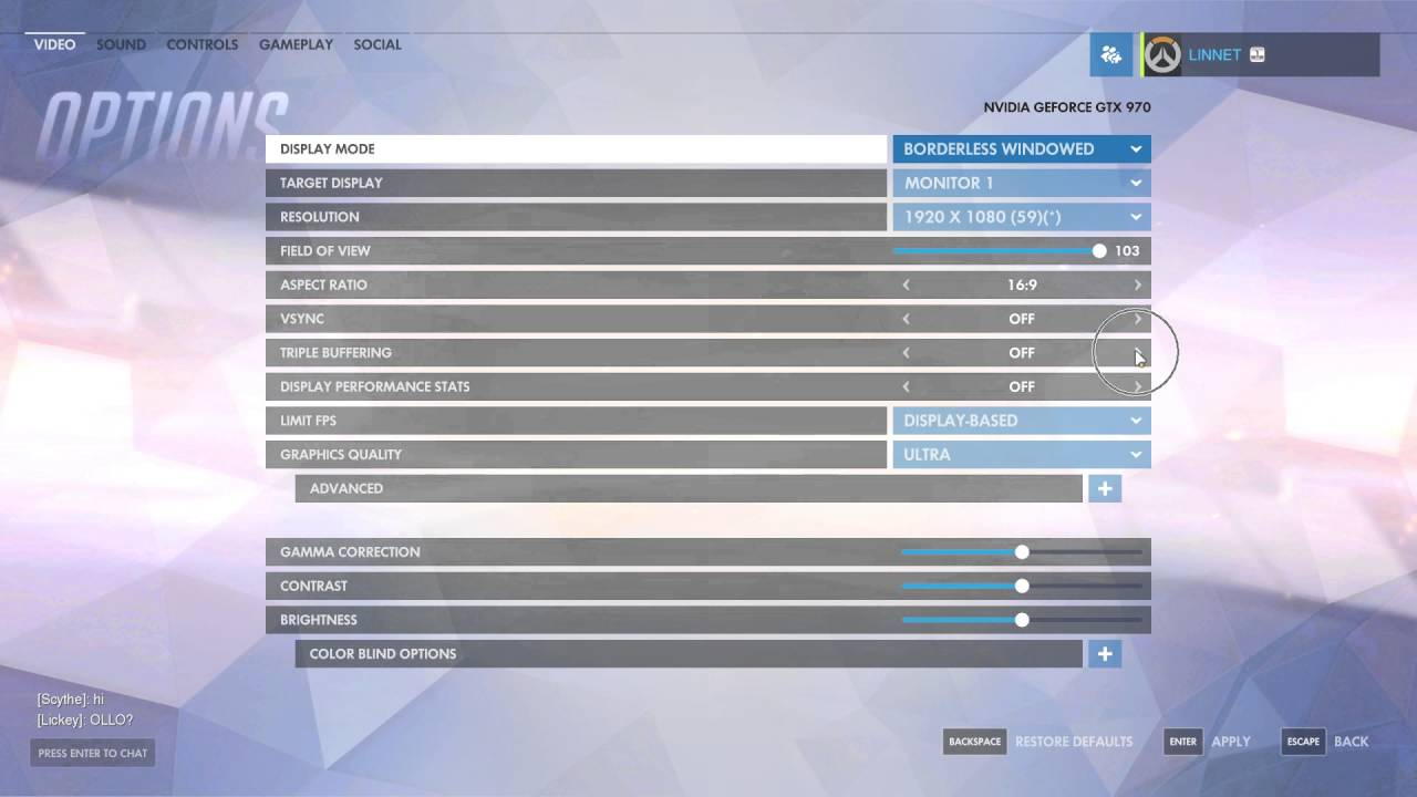 How to Enable Triple Buffering In Overwatch - YouTube