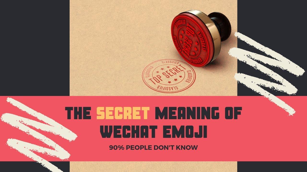 Meaning wechat slight emoji 💁 All