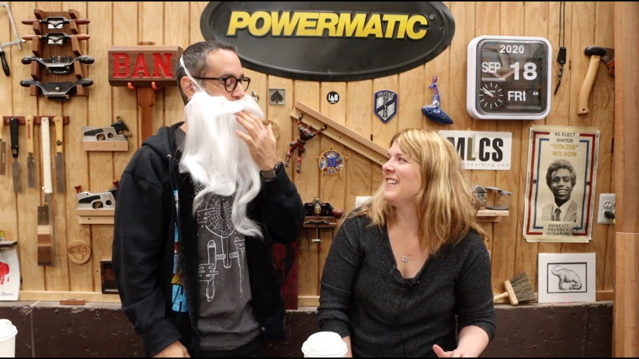 Old Man Spags   The Woodworking Morning Show