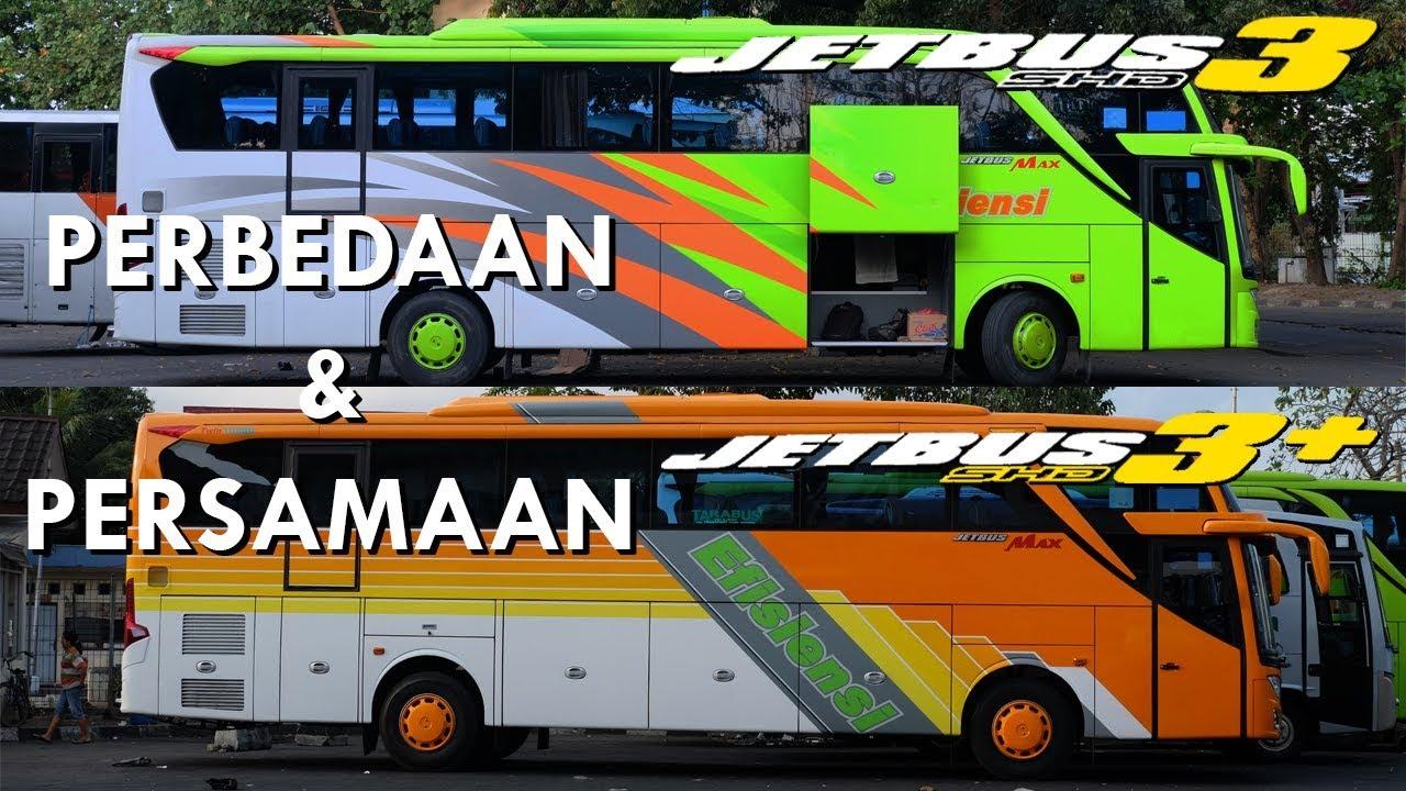 Perbedaan Dan Persamaan Jetbus 3 Dengan Jetbus 3 Karoseri Adiputro