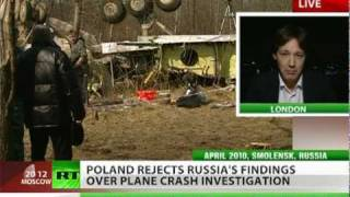 Poland rejects Russia's findings over plane crash that killed president