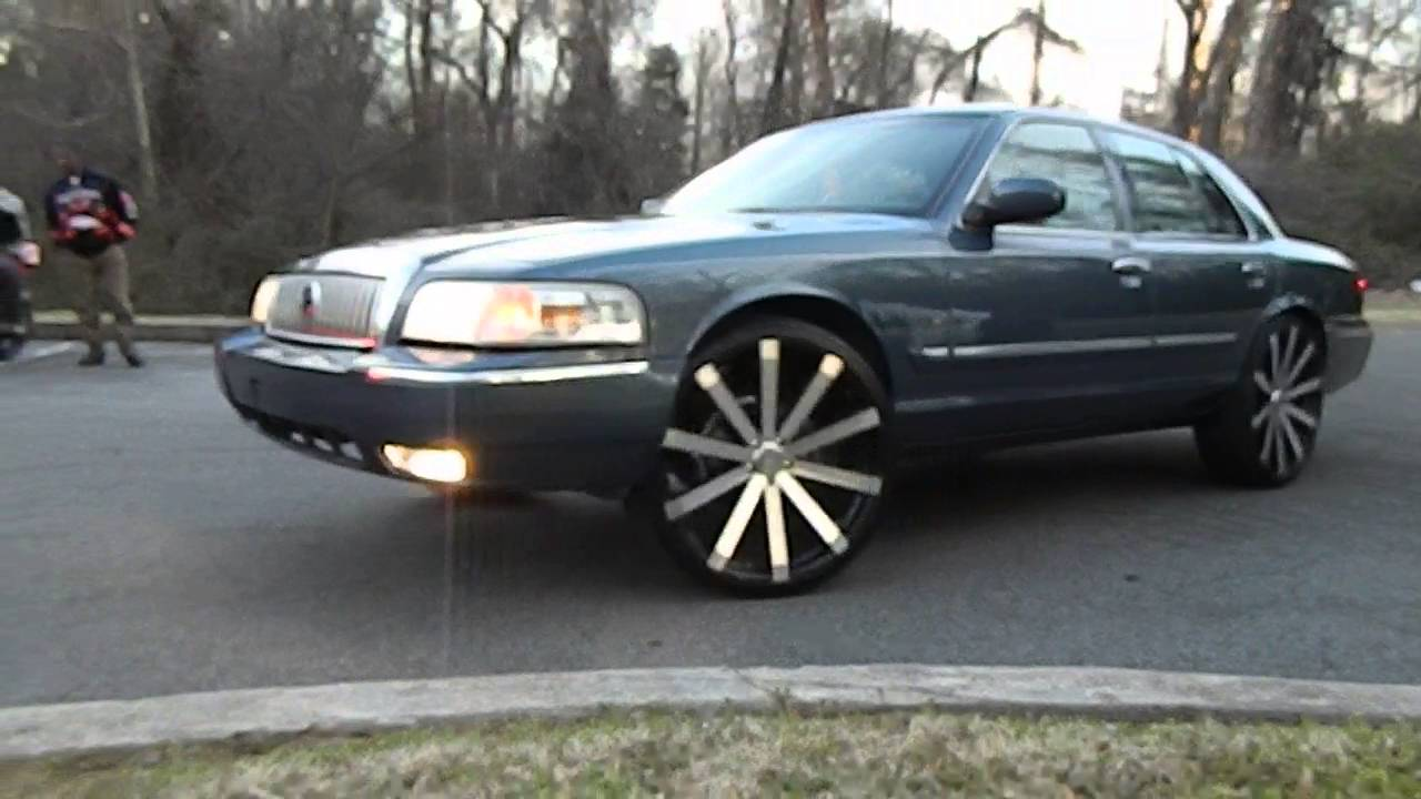 Mercury Grand Marquis On Velocity Wheels At Mlk Park Youtube