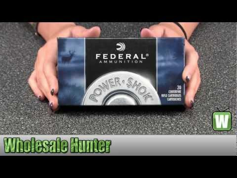 Federal Cartridge 7mm Remington Magnum 175Gr Power Shock Ammo 7RB Shooting Hunting Unboxing