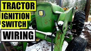 tractor ignition key switch wiring | universal ignition switch | john deere  2130 - youtube  youtube