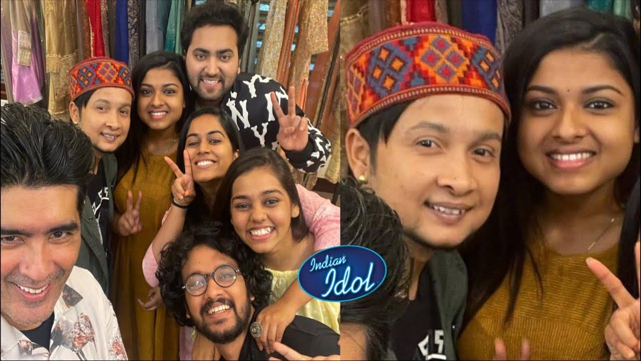 Pawandeep Rajan Arunita Kanjilal संग सभी पहुंचे Manish Malhotra के Showroom |  Indian Idol 12 Finale
