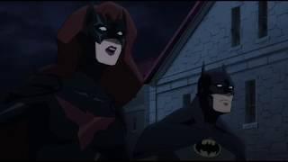 Бэтмен (Дик Грейсон) и Бэтвумен против наемников (Бэтмен: Дурная кровь 2016)
