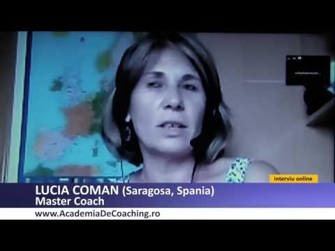 Lucia Coman Master Coach, Absolvent Academia Romana De Coaching cu Loredana Latis