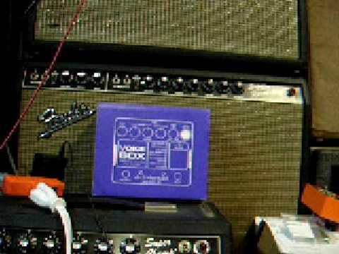 Electro-Harmonix Voice Box video #4 - Vocoder with clean guitar