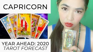 YEAR AHEAD 2020: CAPRICORN (LIVE TAROT READING) by RJ Marmol | TheWokeWay.org