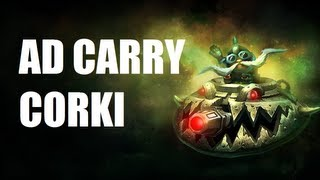 League of Legends - UFO Corki ADC - Full Game Commentary