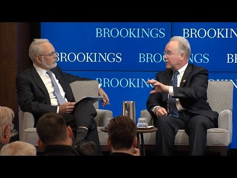 Rep. Tom Price, David Wessel exchange on federal budget