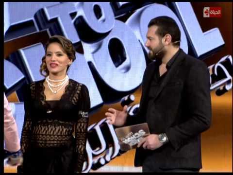 برنامج Back to school - النجم عمرو يوسف يغازل المدرسه تاتيانا
