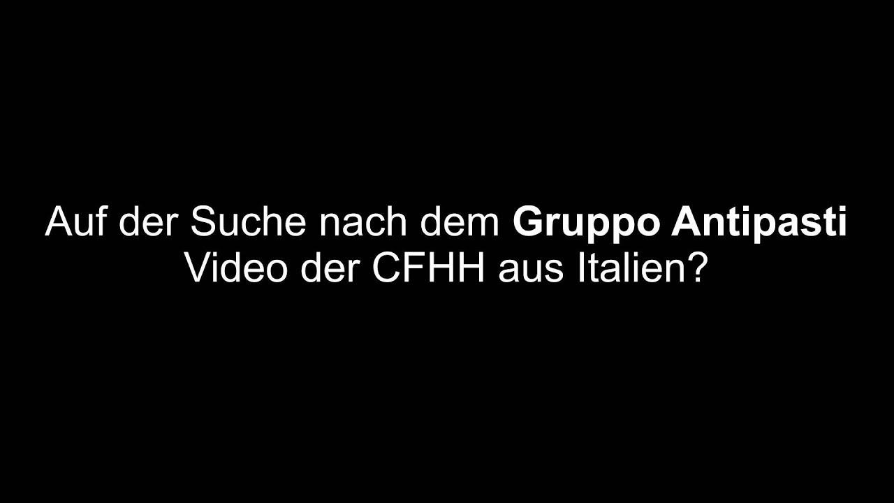 GRUPPO ANTIPASTI   CFHH (Italien)