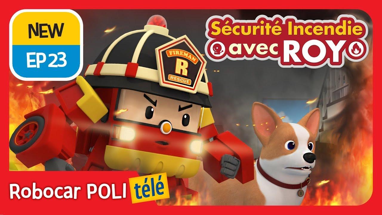 S curit incendie avec roy ep 23 robocar poli t l - Dessin anime robocar poli ...