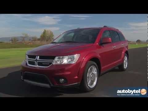 2012 Dodge Journey Test Drive & Crossover SUV Review