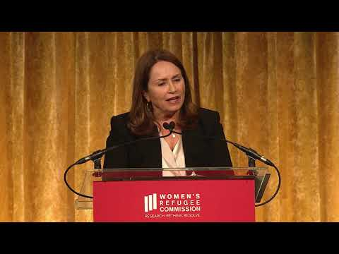 Sarah Costa, Executive  Director, at 2019 Voices of Courage Awards luncheon