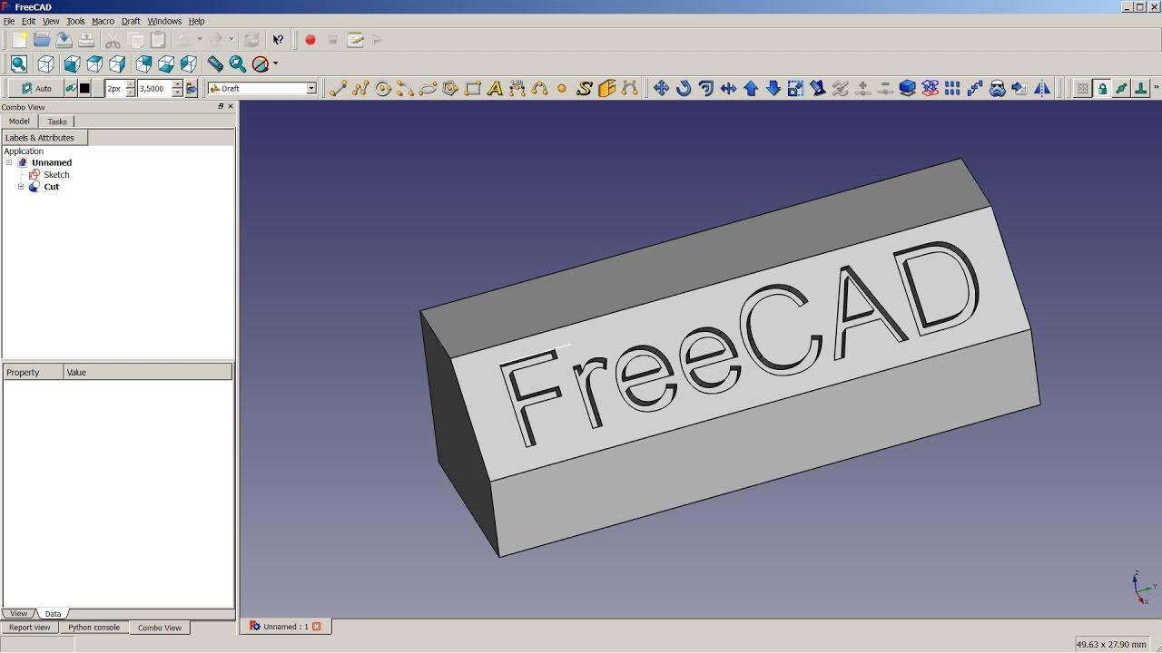 FreeCAD Wiki - Draft Shapestring Tutorial