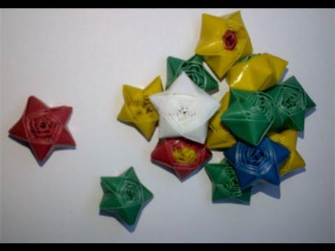 cara membuat bintang dari sedotan plastik 1b33d42d37