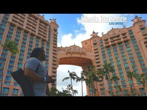 Atlantis Bahamas Water Park **Trip Review** Nov 2016 Serena Williams Apperance @ the WaterSlide.