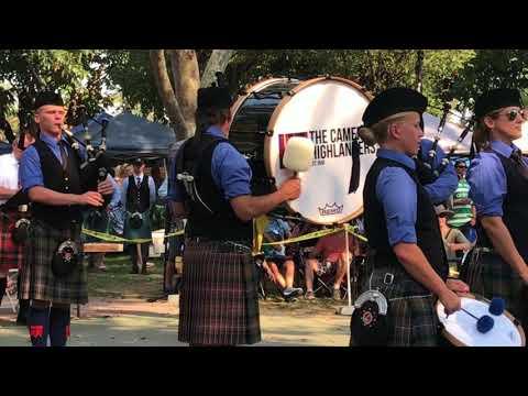 Cameron Highlanders Pipe Band (Grade II) - Pleasanton Games - Medley - September 3, 2017