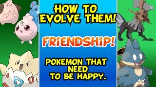 Baixar How To Evolve! Pokemon That Need To Be Happy or Friends || New Player's Guide To Pokemon