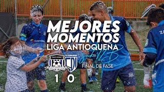 ARCO ZARAGOZA 1 - 0 Integrados   MEJORES MOMENTOS   LAF sub 12B Final de Fase