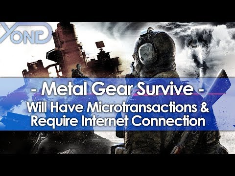 Metal Gear Survive Will Have Microtransactions & Require Internet Connection