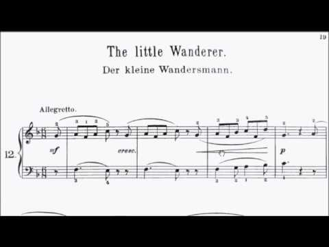 Con Brio Exam (CBE) Grade 3 Gurlitt Op.101 No.12 The Little Wanderer Sheet Music