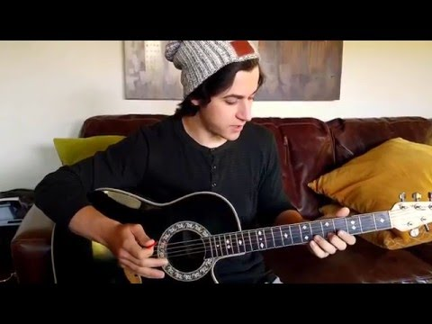 David Henrie Playing Guitar