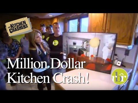 HGTV Kitchen Crashers   Million Dollar Kitchen Crash