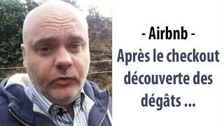 Airbnb - Après le checkout découverte des dégâts - comment faire ?