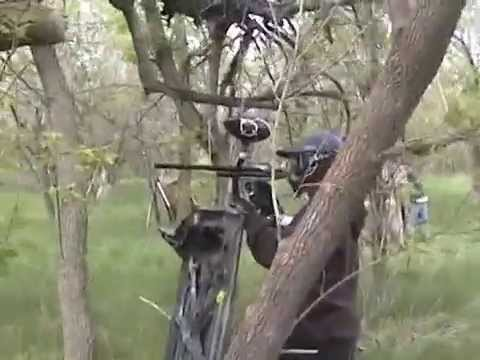 Paintball naked
