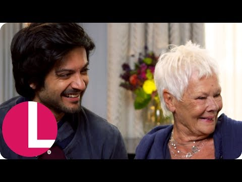 Dame Judi Dench Speaks Urdu With Co-Star Ali Fazal! (Extended) | Lorraine