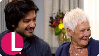 Dame Judi Dench Speaks Urdu With Co-Star Ali Fazal! (Extended) | Lorraine