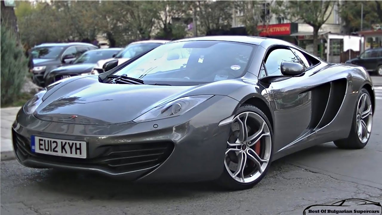 How NOT to Open a McLaren MP4-12C Door ! - YouTube