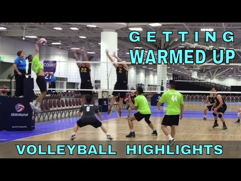 GETTING WARMED UP - Big Bics All Day vs Tall Ones Volleyball HIGHLIGHTS (USAV 2017 Nationals)