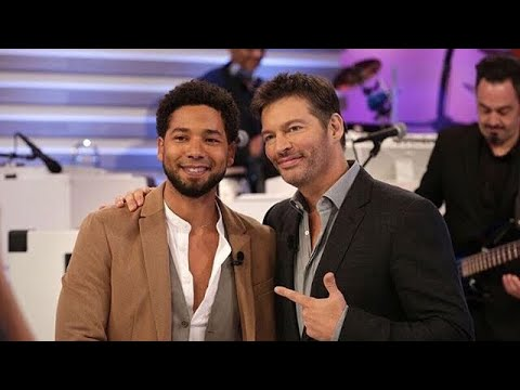 Jussie Smollett And Harry Connick Jr do a song in 60 seconds