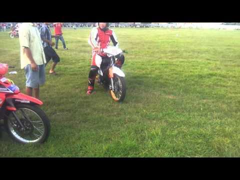 Đua xe trà vinh 125cc 2012