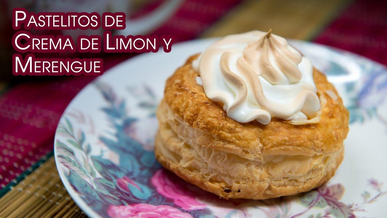 Pastelitos de Crema de Limon y Merengue
