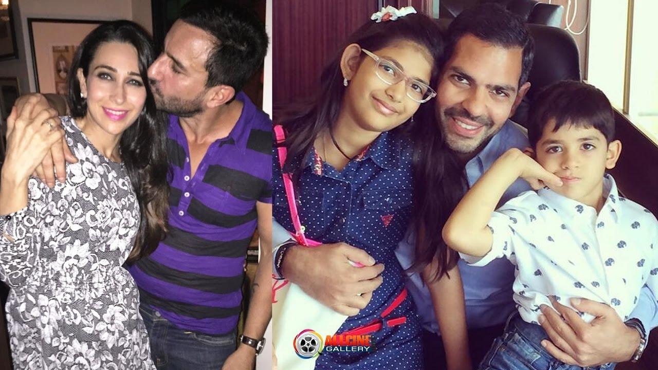Actress Karisma Kapoor Family Photos With Husband Daughter Son New 2017
