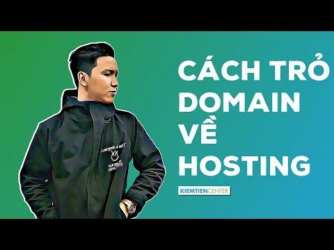 Hướng dẫn trỏ domain về hosting Cpanel theo 3 trường hợp   Kiemtiencenter