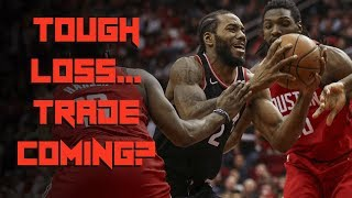 TRADE Incoming for RAPTORS? - Tough Outcome to an EPIC Finish - Raptors vs Rockets Reaction