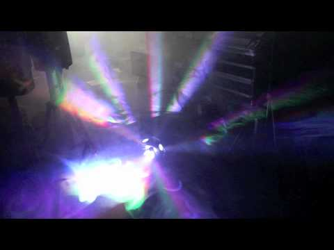 QTX Neutron LED Lighting Demo with Smoke @ Music Gear Direct