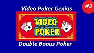 Video Poker Genius [Part 3] - Double Bonus Poker